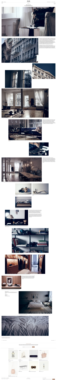 theline.com: Storytelling von Feinsten